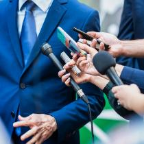Link temporário para jornalismo e reportagem
