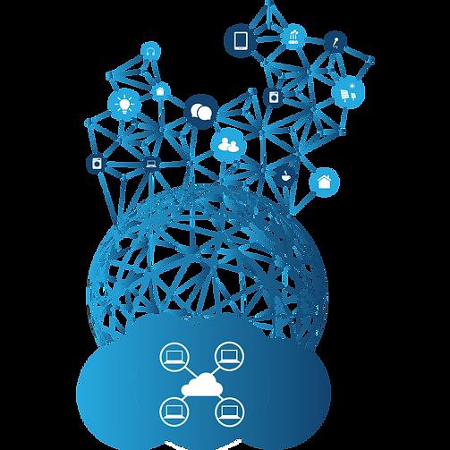 Ilustração de redes corporativas MPLS - ALLnet