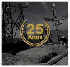ALLnet 25 anos construção do POP Mendanha RJ