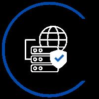 ícone centro de operações de rede ALLnet