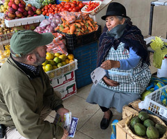 Talking Amid Fruits