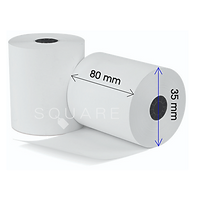 Pos roll, pos paper roll, standard receipt roll for thermal receipt printer, 80mm receipt roll
