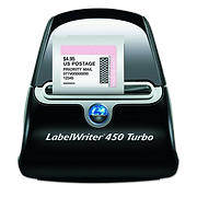 Dymo labelwriter 450 for pos system, compatible with vend, shopify, lightspeed, revel with USB connection to desktop computer running window OS or mac OS