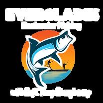 Everglades Backwater Fishing Logo white.