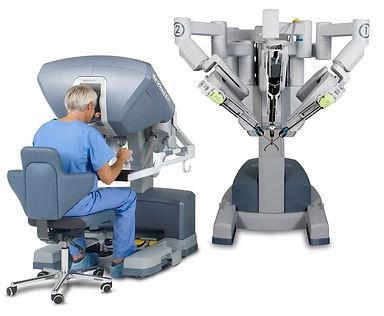 Prostatctomia robótica - robô DaVinci