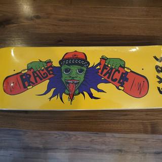 Rage Face Skateboard