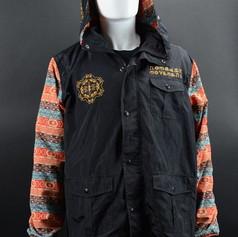 Noamdic Aztec Jacket Front