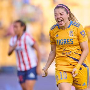 Terminó la jornada 5 del Torneo Femenil Grítalo México, Apertura 2021