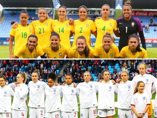 Brasil e Inglaterra apuestan por la paridad de género