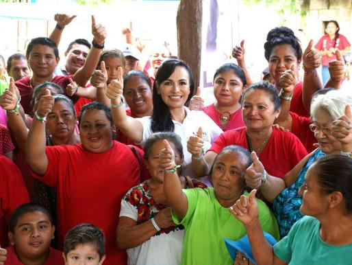 Villanuevismo Candidatea a Laura Fernández para Gubernatura