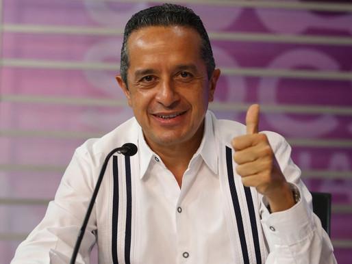 """Sin Cumplir """"El que la hace la paga"""" y Buscando Impunidad Llega Carlos Joaquín a su 5To Informe"""