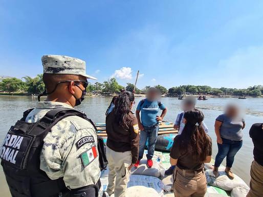 Reforzarán Seguridad en la Ribera del Río Hondo, por el paso de Caravana Migrante