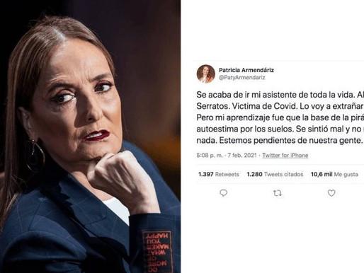 «Autoestima por los Suelos»: Patricia Armendáriz tras Muerte de Asistente