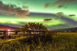 Norðurljósin við Hrafnagi