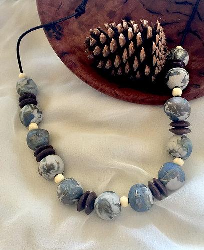 Porcelain necklace 1