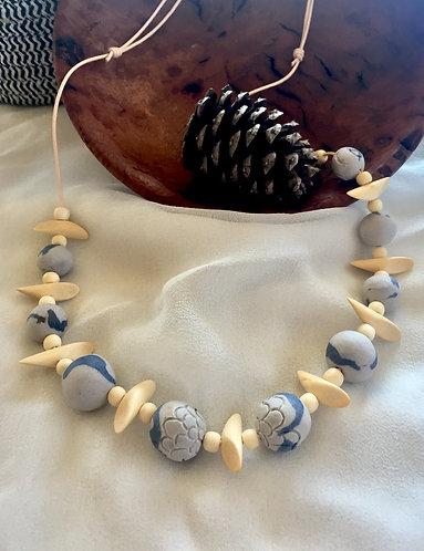 Porcelain Bead Necklace 4