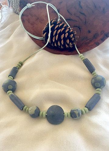 Porcelain Bead Necklace 3
