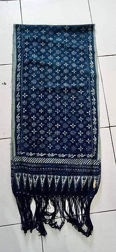 Scarf/Table Runner batik indigo