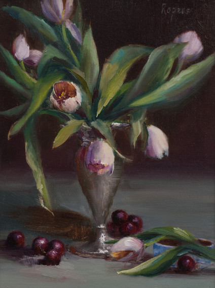 Tulips and Cherries