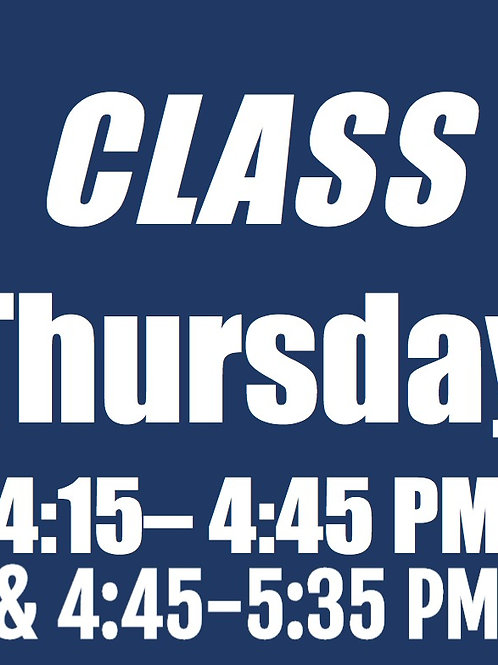 Session 4 - THU Extended Combo Class