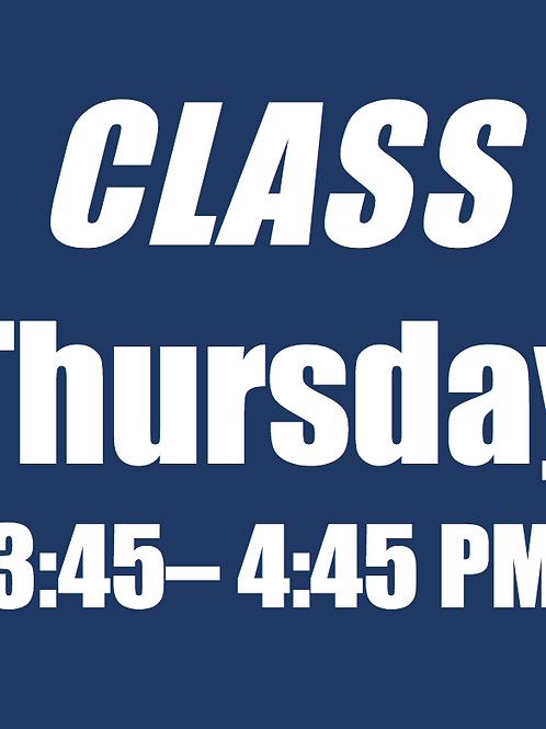 Session 2 - THU Standard Class