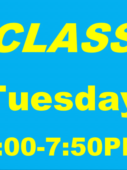 Summer - TUES Extended Class