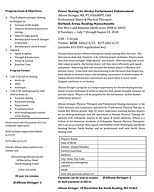 2020 Power Skating for Hockey Performanc