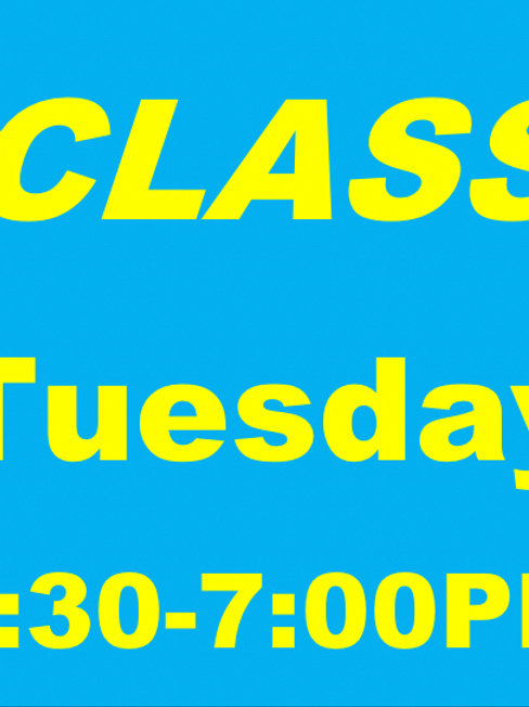 Summer - TUES Extended Combo Class