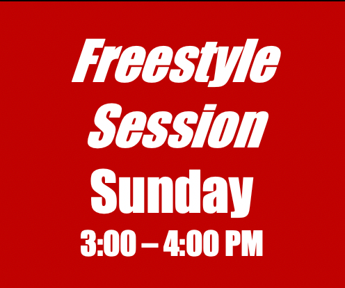 Freestyle Session - Tewksbury-May/June