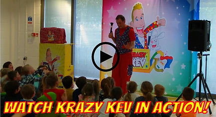 Watch Krazy Kev Children'sEntertaner Bournemouth in action