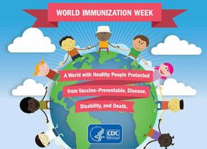World Immunization Week!