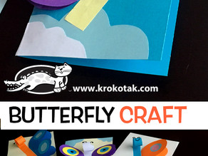 Butterfly Craft for Kids!