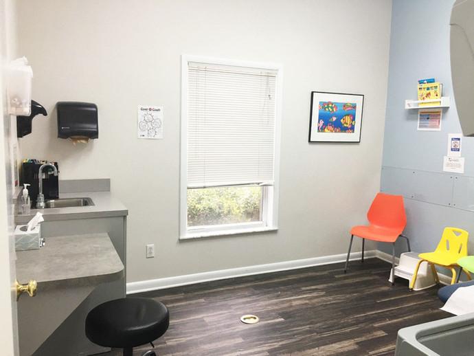 Chiefland Patient Exam Room