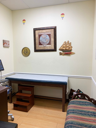 Nocatee Exam room