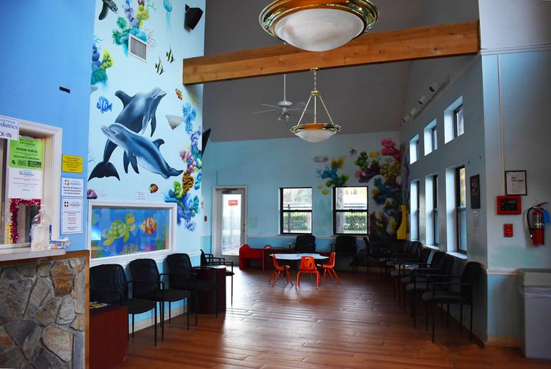 North Florida Pediatrics Lake City Lobby