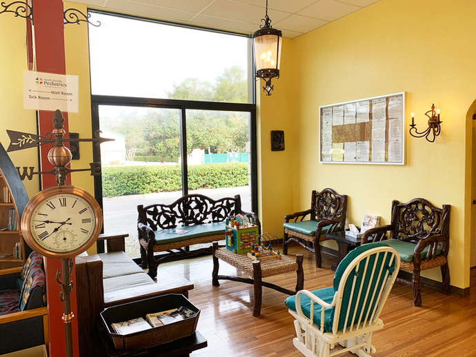 Nocatee Sick Child Waiting Area