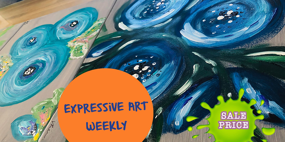 Expressive Art for Well-being - ADULTS Weekly class