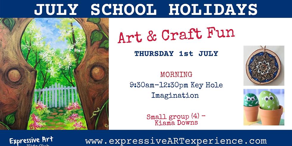 IMAGINATION through the Keyhole - 7+yrs Thursday MORNING 1st JULY