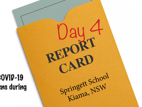 REPORT CARD - Day 4 Home School