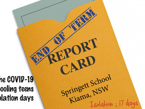 REPORT CARD - Day 13 End of Term