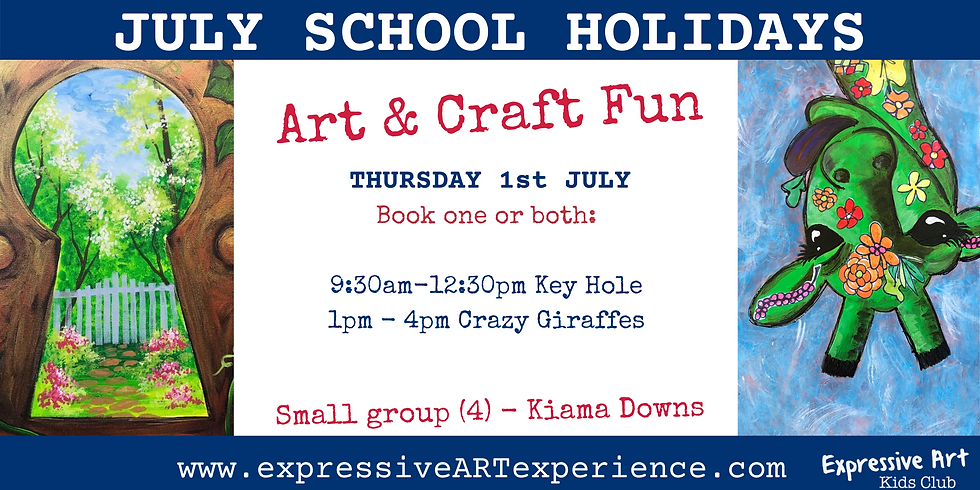 MORNING 1st July - Art & Craft