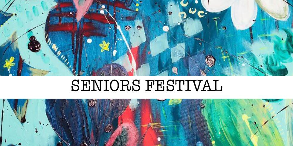 FREE Abstract Art Class - Seniors Festival