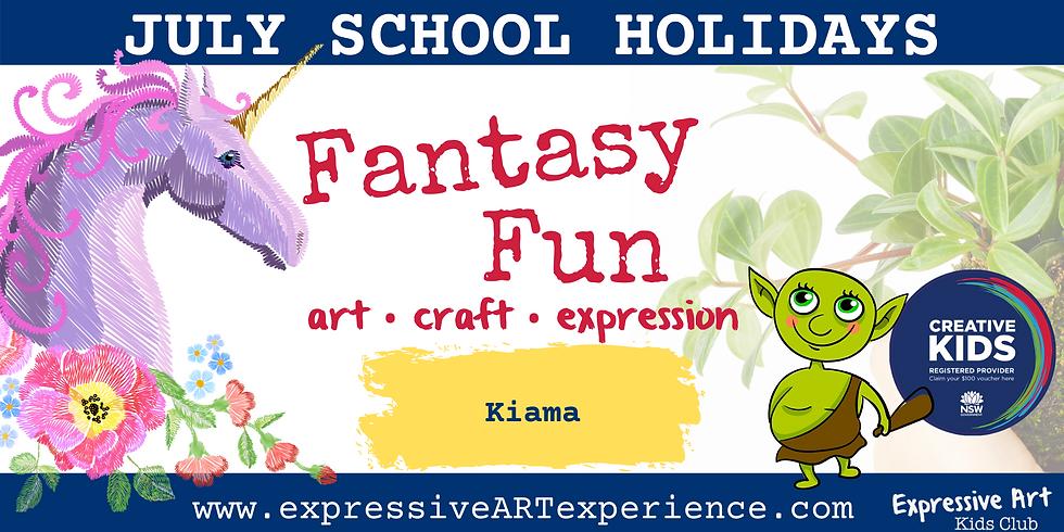 KIDS CLUB - Thursday 8th JULY - Kiama