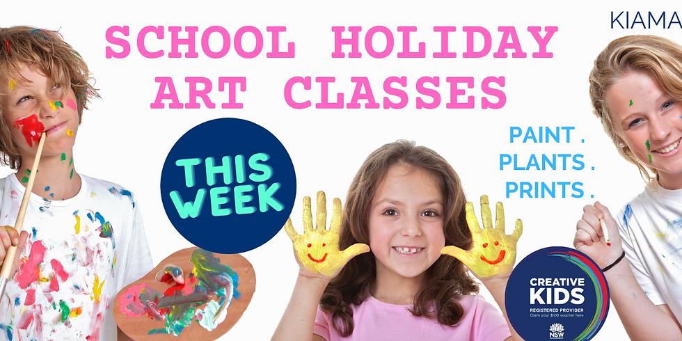 School Holidays 6-12yrs - 16thApril 2PM