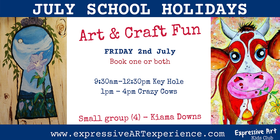 AFTERNOON 2nd July - Art & Craft