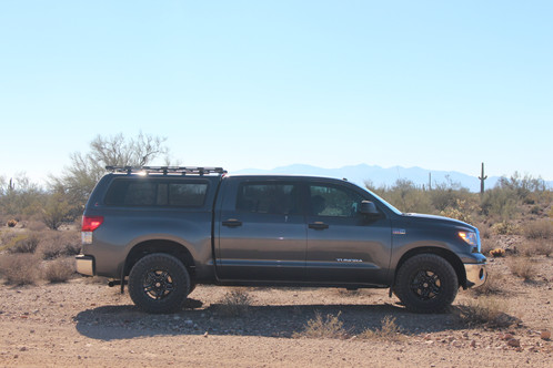 The Tundra Toprac Is A Modular, Adjustable, And Completely Bolt Together Roof  Rack For Fiberglass Toppers Such As Leer, A.R.E, And Snugtop That Are  Equipped ...