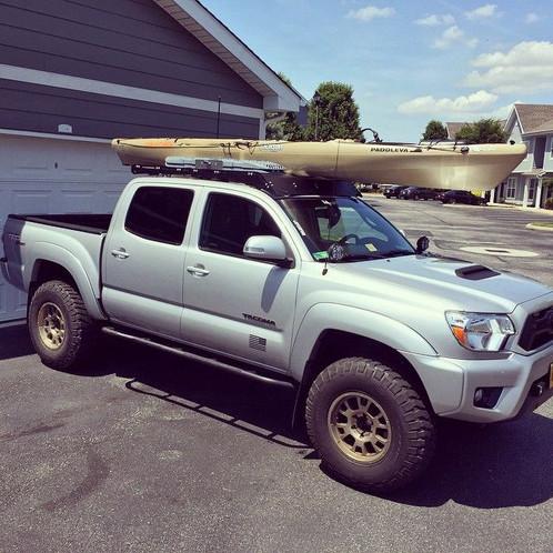 Toyota Tacoma Roof Rack Double Cab >> 2005 - 2018 TOYOTA TACOMA DOUBLE CAB Roof Rack | www.prinsudesignstudio.com