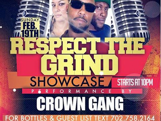 Crown Gang Performers At NECHE Night Club On The Las Vegas Strip