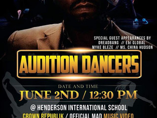 "Ran Blacc Hosts Dance Audition For Featured Dancers For Official ""MAD"" Music Video."