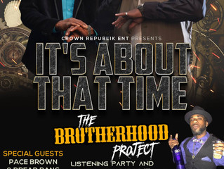 """Crown Republik's Highly Anticipated Album Release Party For """"The Brotherhood Project"""""""